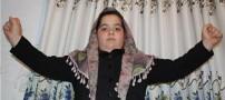 رکورد زنی دختر 8 ساله ایرانی با 126 کیلو وزن +عکس
