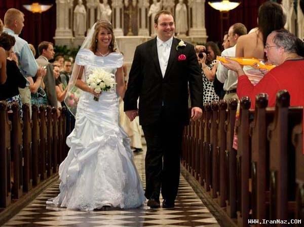 ترفند عروس برای جبران جای خالی پدرش در عروسی