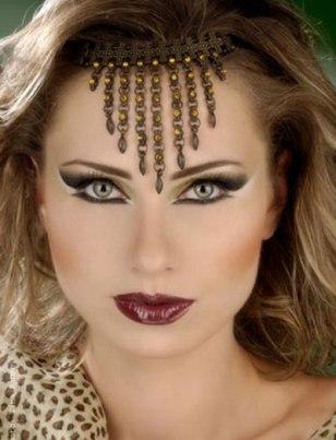 www.irannaz.com عکس های زیبا از آرایش رنگین کمان خانم ها