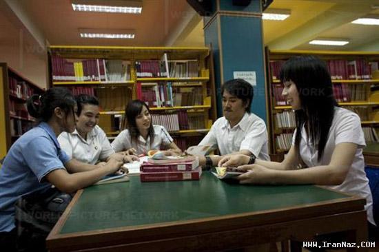 عکس هایی دیدنی از دانشگاه دو جنسه ها در تایلند