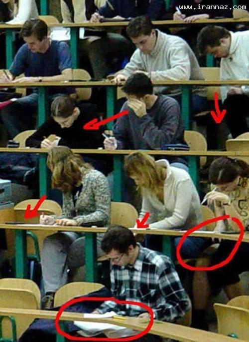 عکس های خنده دار از شیطنت های دوران دانشجویی