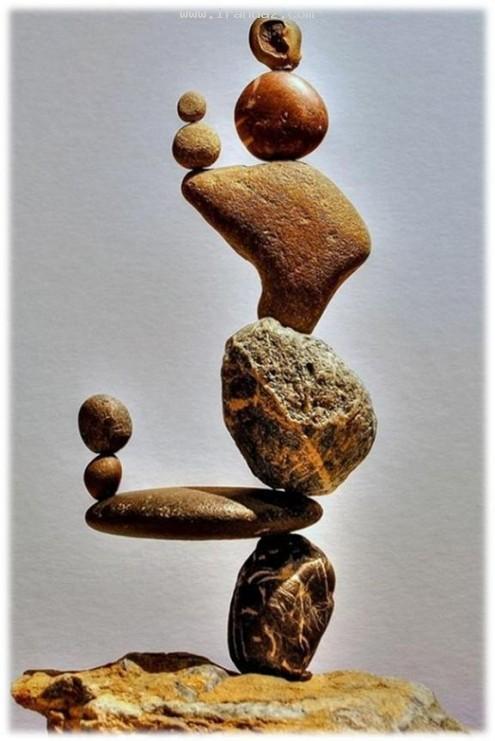 عکس هایی از چینش عجیب و باور نکردنی سنگ ها!!