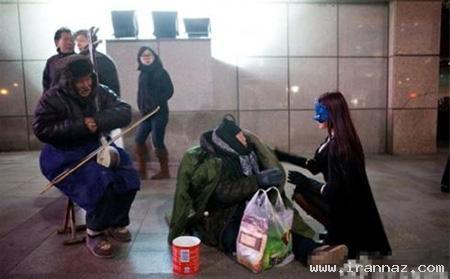 پیدایش زنی با عنوان رابین هود در کشور چین! +عکس