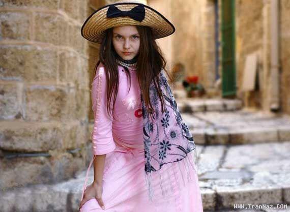 عکس هایی از زیبا ترین دختر جهان در کتاب گینس ، www.irannaz.com