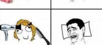 مقایسه جالب بیدار شدن دختر و پسرها (طنز تصویری)