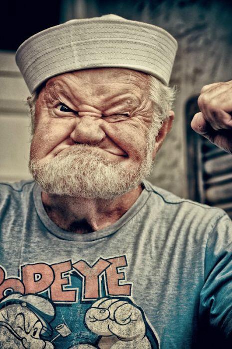 جدیدترین عکس منتشر شده ملوان زبل! خنده دار