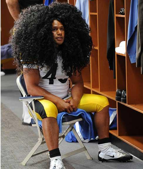 بیمه میلیون دلاری موی عجیب یک فوتبالیست+عکس