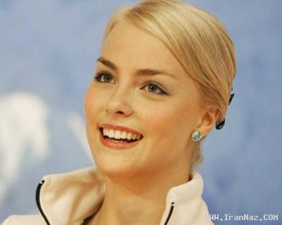عکس هایی از زیبا ترین زن رقاص روی یخ منتخب جهان