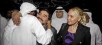 عکس های مارادونا با نامزد جدید و مانکن خود در دبی!