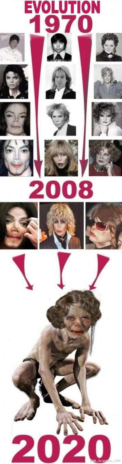 اگر مایکل جکسون زنده می ماند چه شکلی میشد؟!!