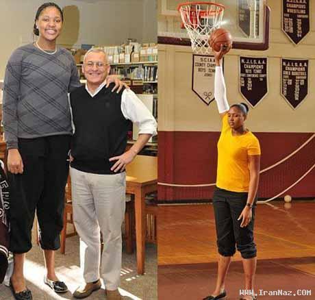 دختری آمریکایی با قد و اندامی باور نکردنی!! +عکس