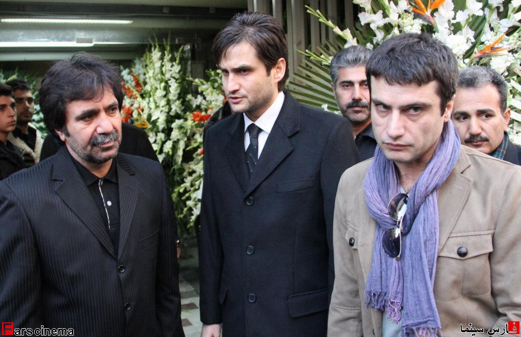 تنها 2 بازیگر در مراسم ختم ساناز کیهان+عکس
