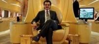 هواپیمای تمام طلای یک از شاهزادگان عرب! +عکس