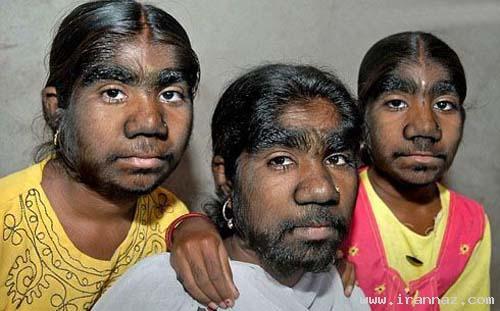 دردسر های خواهران گرگ نما و عجیب هندی +عکس