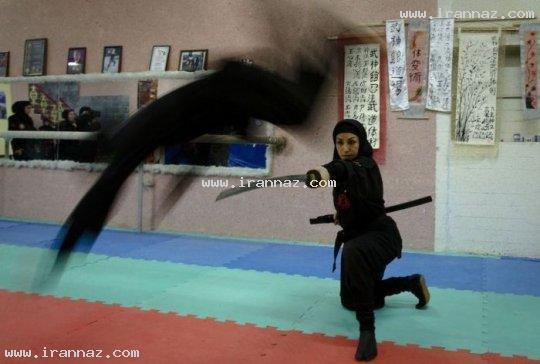 عکسهای بسیار دیدنی و جالب از نینجا های زن ایرانی