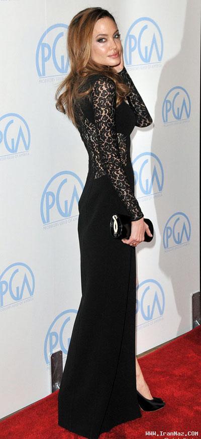 آنجلینا جولی به این لاغری واقعا باردار است؟! +عکس