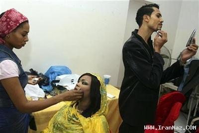 دستگیری 8 مرد بدلیل شبیه شدن به خانم ها +عکس