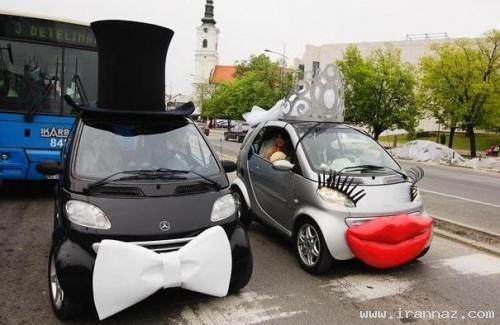 عکس های دیدنی از زیباترین ماشین عروس های ایران