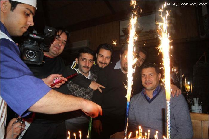 عکس هایی دیدنی از جشن تولد علی دایی در شیراز