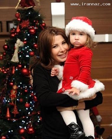 عکس جدید و بسیار دیدنی از نانسی عجرم و دخترش