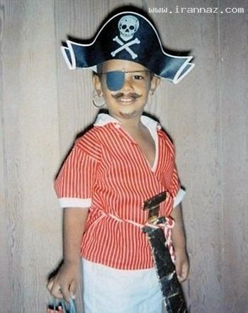 عکس کودکی اوباما