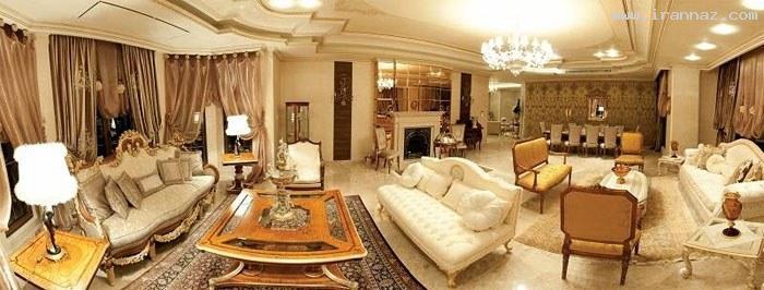 عکس هایی از پنت هاوس 23 میلیارد تومانی در تهران ، www.irannaz.com