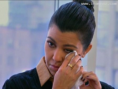 گریه کیم کارداشیان پس از صحبت با یک روح!! +عکس