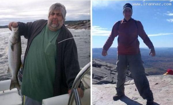 عکس های زنان و مردانی با تغییر اندام باور نکردنی!!