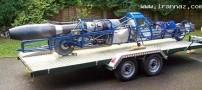 موتوری عجیب با سرعت 724 کیلومتر سرعت +عکس