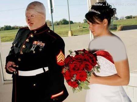 عکس های دیدنی زنی که به عشق خود وفادار ماند!