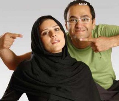 عكسهاي بسيار ديدني بازيگران ايراني با همسرانشان ، www.irannaz.com