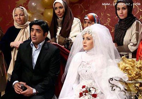 عکس هایی از بازیگران ایرانی در لباس عروس و داماد!