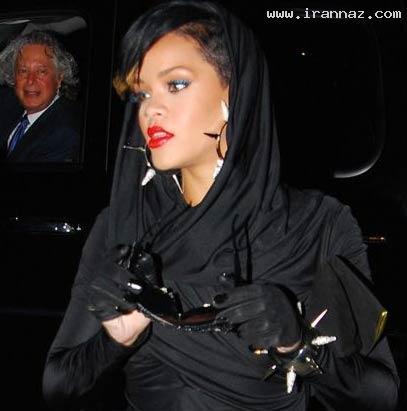 وقتی که ریحانا از مجرد بودن خسته می شود! +عکس ، www.irannaz.com