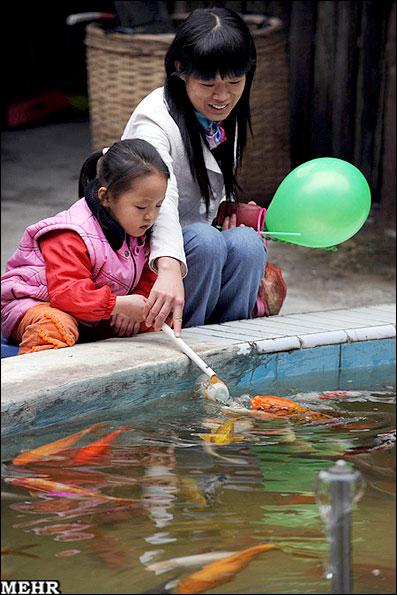 جالب ترین روش چینی ها برای جلب توریست+عکس