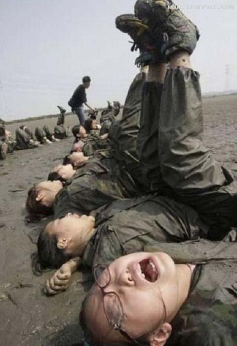 عکس هایی از آموزش های نظامی به دختران کره ای