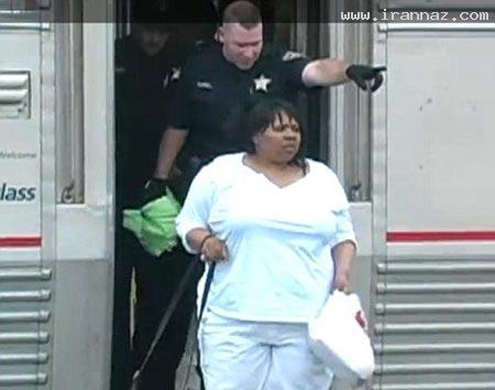 اخراج یک زن از قطار پس از 16 ساعت صحبت با موبایل