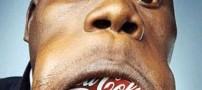 مردی بسیار عجیب با گشادترین دهان جهان! +تصاویر
