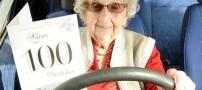 زنی که 82 سال بدون گواهینامه رانندگی کرد! +عکس