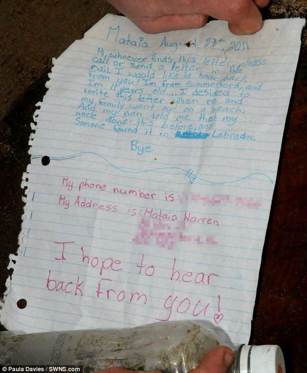 نامه جادویی دختری که باعث آشنایی دو خانواده شد