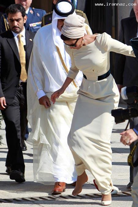 3 میلیون دلار هزینه زیباسازی همسر امیر قطر+عکس