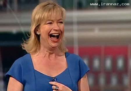 سوتی خنده دار خانم مجری حین پخش اخبار! +تصاویر