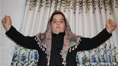قدرت باور نکردنی یک دختر 8 ساله مازندرانی +عکس