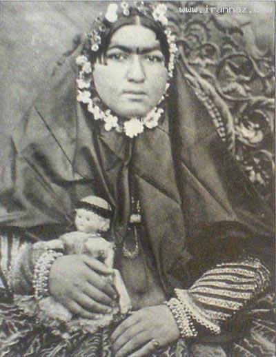 دختر زیبایی که سوگولی ناصرالدین شاه شد!! +عکس ، www.irannaz.com