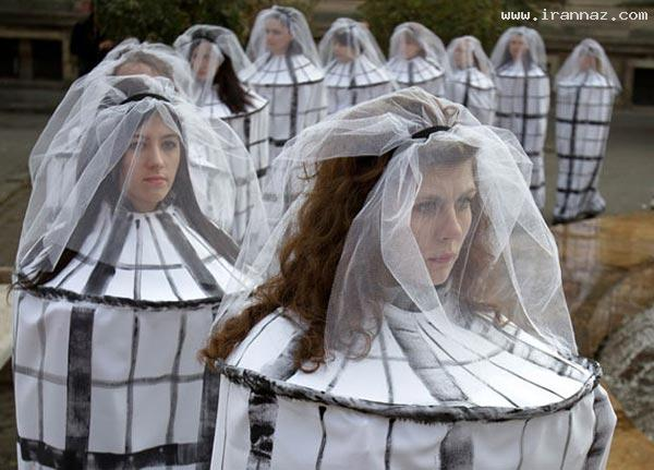 لباس محافظ سوء استفاده جنسی از دختران! +عکس ، www.irannaz.com
