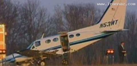 فرود آوردن یک هواپیما توسط زنی بدون تجربه! +عکس