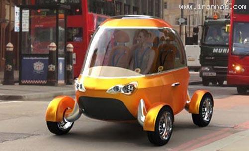 متولد شدن اولین اتومبیل بدون راننده در جهان +عکس