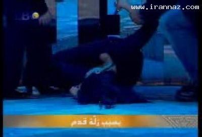 عکسهایی از سوتی خواننده زن هنگام اجرای کنسرت ، www.irannaz.com