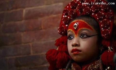 این دختر را فقط 13 روز در کل سال میتوان دید +تصاویر ، www.irannaz.com