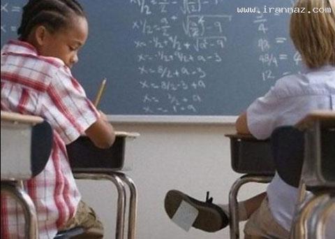 عکسهای خنده دار از روشهای تقلب در جلسه امتحان