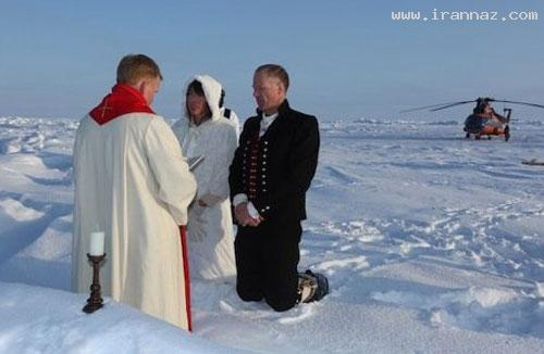 عکس های دیدنی از عجیب ترین ازدواج در سال 2012